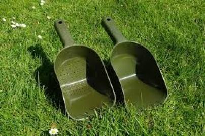 Ridgemonkey XL Baiting Spoons Green
