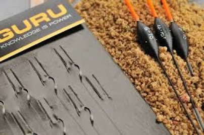 Guru Ready Tied Pole Hook lenghts, f1 pellet,X-strong,Lwg