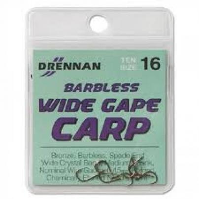 Drennan Wide Gape Carp Barless Hooks
