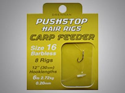 Drennan Push Stop Hair Rigs Carp Feeder