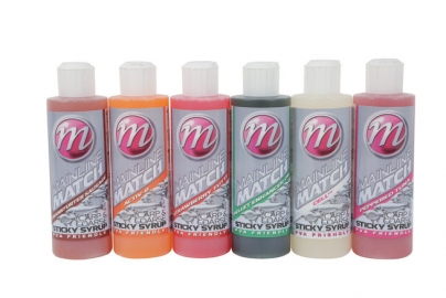 Mainline match carp and coarse sticky syrups