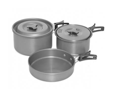 Trakker 3 Piece Cookware Set