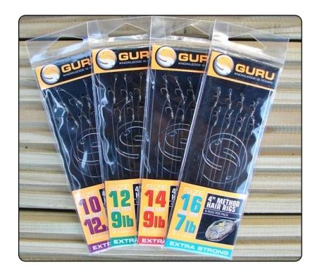 GURU METHOD HAIR RIGS 4 INCH