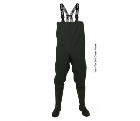 Vass 600 Series Heavy Duty PVC Chest Wader