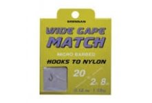 Drennan Wide Gape Match Barbed Hooks to Nylon