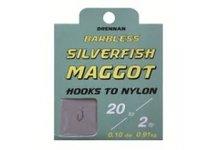 Drennan Barbless Silver Fish Maggot Hooks To Nylon