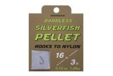 Drennan Barbless Silver Fish Pellet Hooks To Nylon