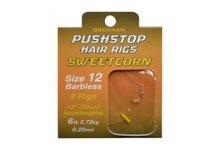 Drennan Push Stop Hair Rigs Sweetcorn
