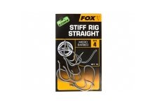 Fox Edges Stiff Rig Straight Hooks