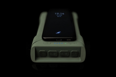 Ridgemonkey Vault C-Smart Wireless Charger Gun Metal Green