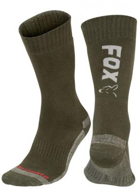 Fox Thermalite Long Socks OLIVE