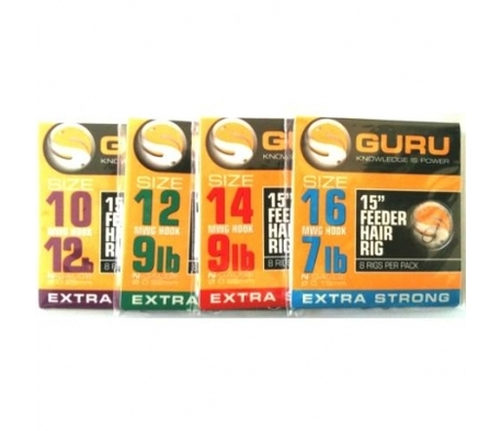 GURU FEEDER HAIR RIG 15 INCH
